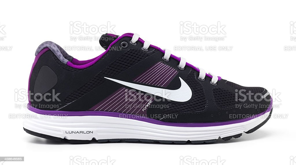 Nike Women's Lunar Elite+ royalty-free stock photo