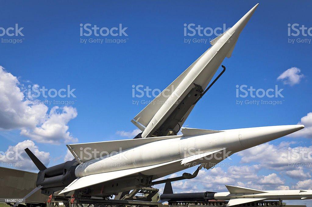 Nike-Hercules Missiles stock photo
