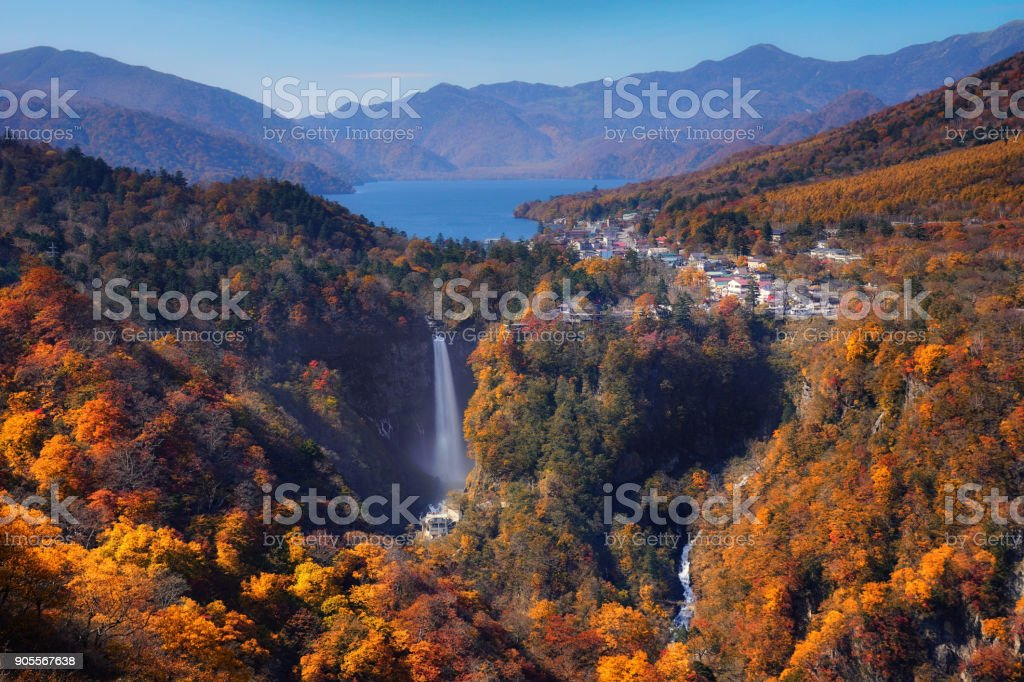 nikko, japan, autumn, background, park, national, maple, water, travel, red, season, beautiful, japanese, leaves, landscape, asia, fall, destination, nature, yellow, view, forest, asian, river, famous, garden, color, orange, tourism, environment, seasonal stock photo