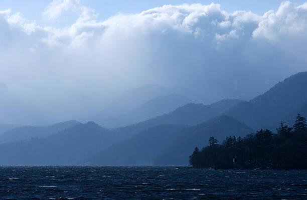Nikko - Lakes and mountains stock photo