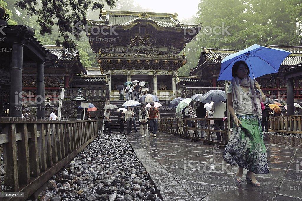 Nikko Toshogu Shrine royalty-free stock photo