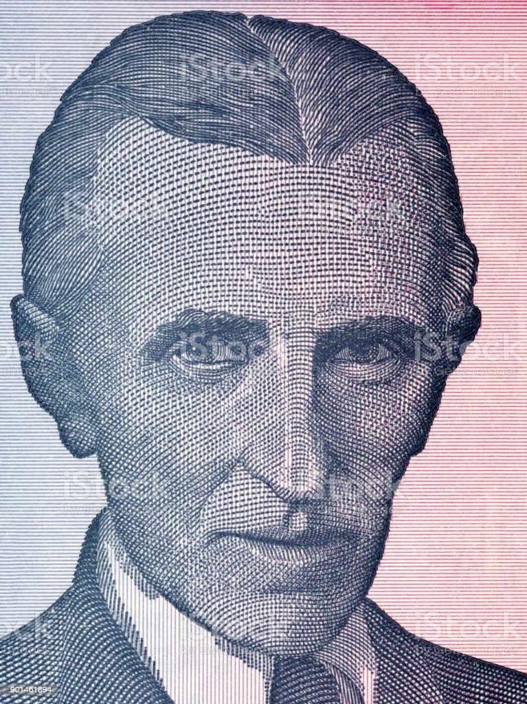 Nikola Tesla Portrait Stock Photo More Pictures Of Business Istock