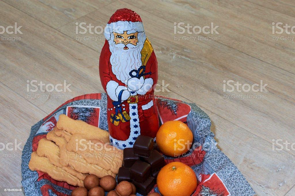 Nikolausteller - tradition in Deutschland, 6. Dezember stock photo