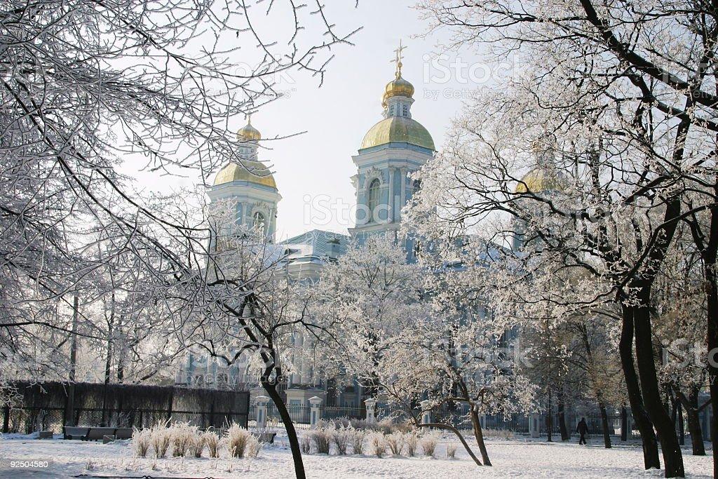 Nikolsky  cathedral 4 royalty-free stock photo