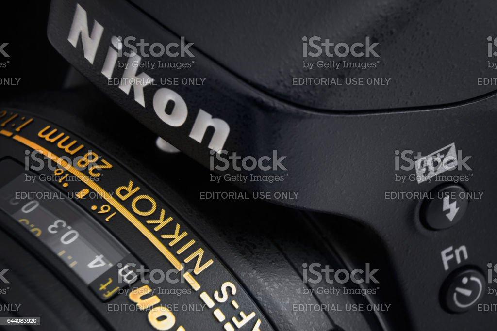 Nikon Camera with Lens