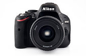 Nikon D5100 Camera with 35mm Lens