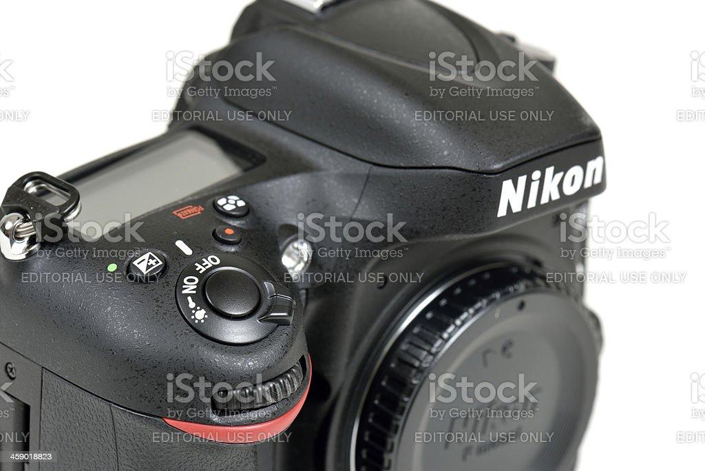 Nikon D600 DSLR Camera royalty-free stock photo