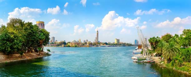 Nil und Kairo – Foto