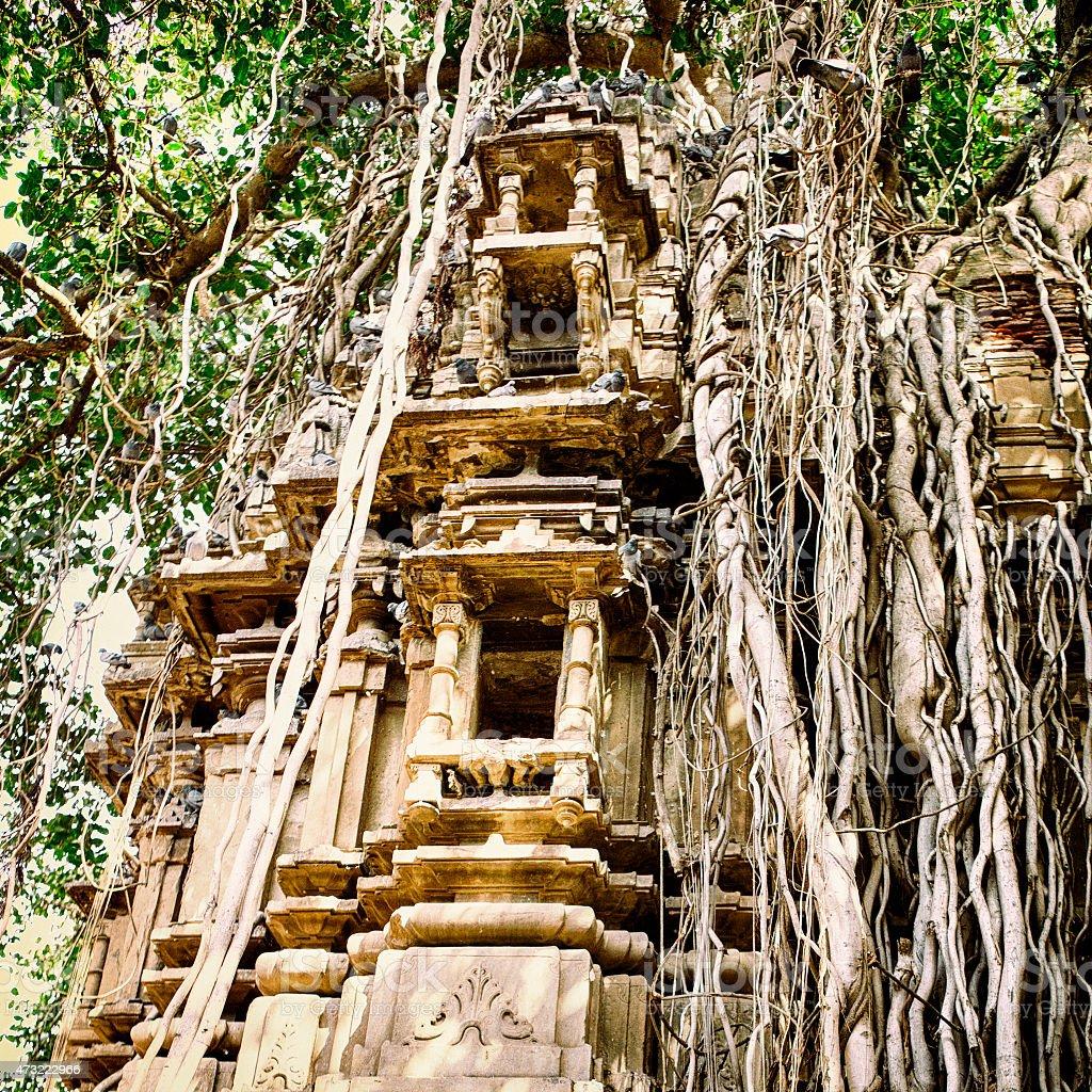 Nimaj Temple in Nimaj, India stock photo