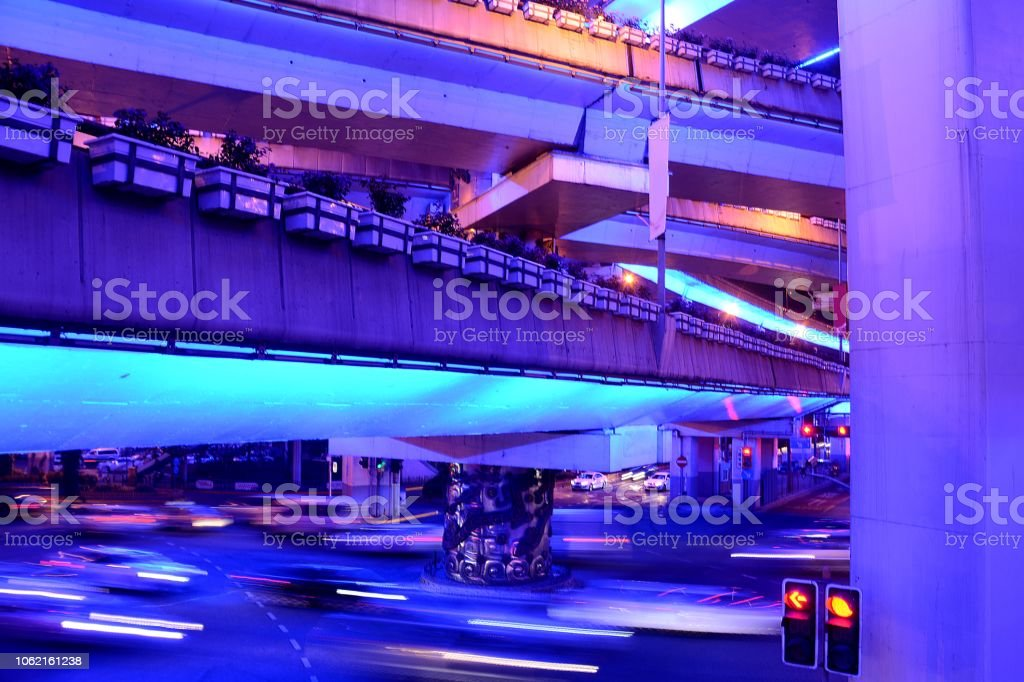 Speed motion at Yan\'an elevated highway and Chengdu Bei road...