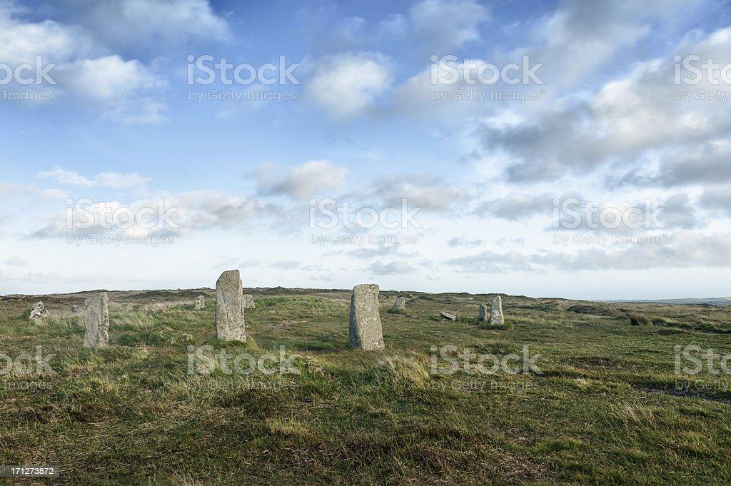 Nine Maidens stock photo