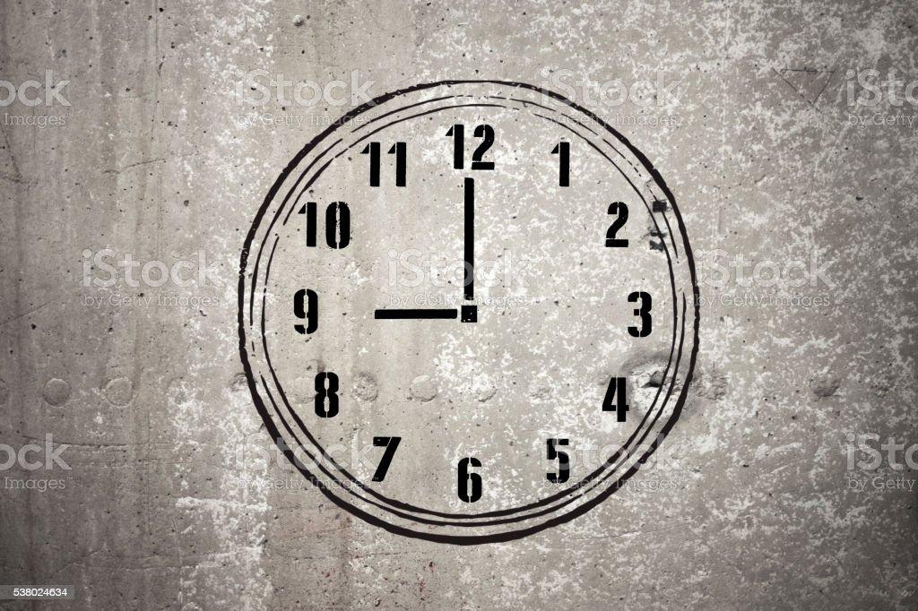 Nine o'clock - Stock Image