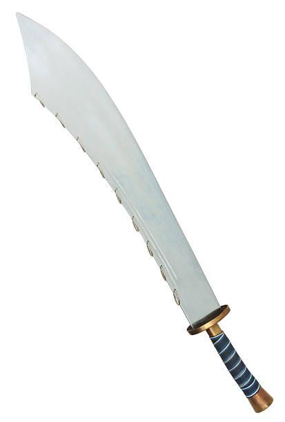Nine Ring Broad Sword stock photo