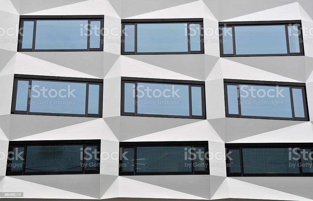 Nine Windows in Switzerland royalty-free stock photo