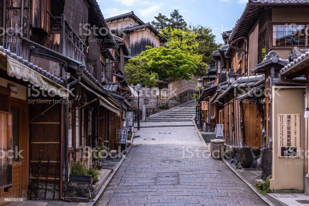 Ninenzaka steps in Higashiyama stock photo