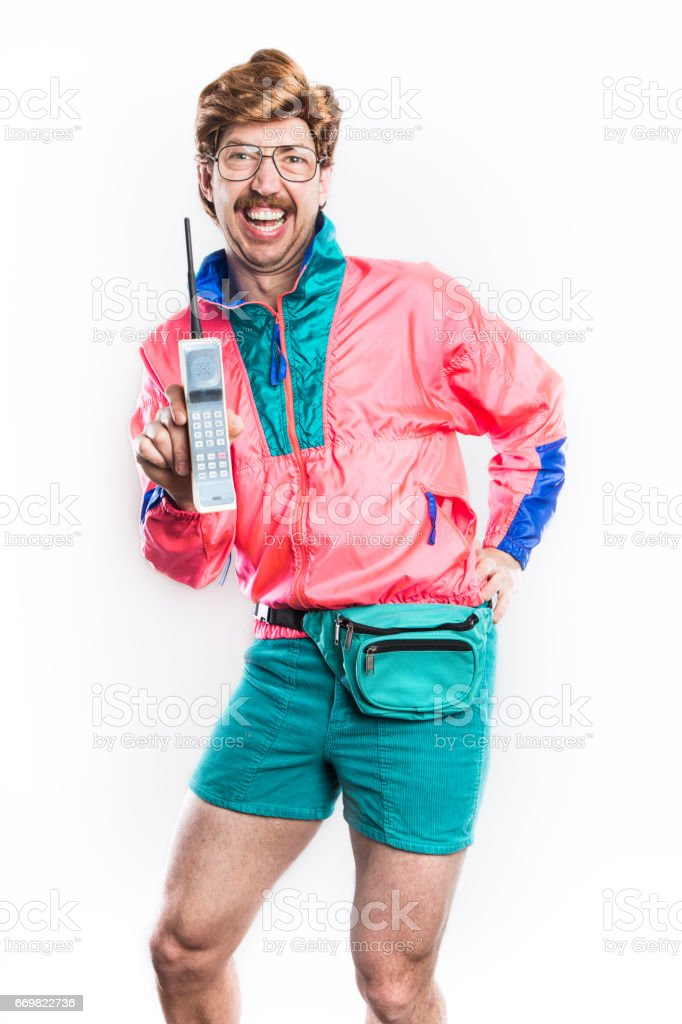 Nineties Tech And Fashion Style Man Stock Photo More Pictures Of 1990 Istock