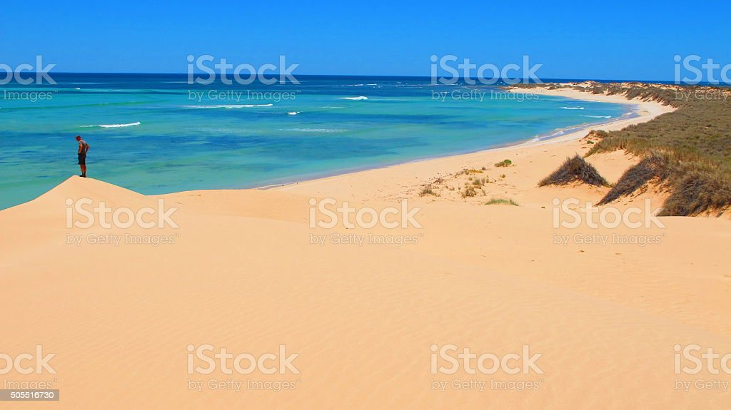 Ningaloo Coast, Cape Range National Park, Western Australia stock photo