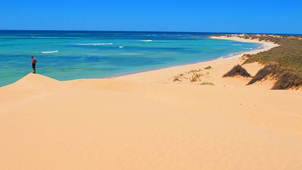 Ningaloo Coast, Cape Range National Park, Western Australia stock photo