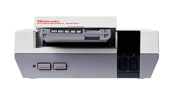 Nintendo Entertainment System with Super Mario Bros. and Duck Hunt