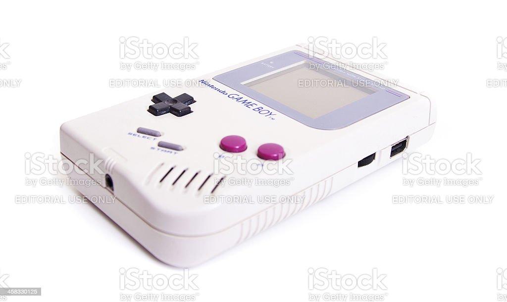 Nintendo Game Boy - foto de acervo