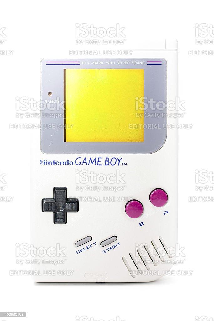 Nintendo Game Boy stock photo