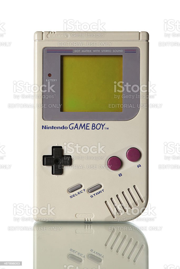 Nintendo Game Boy stock photo