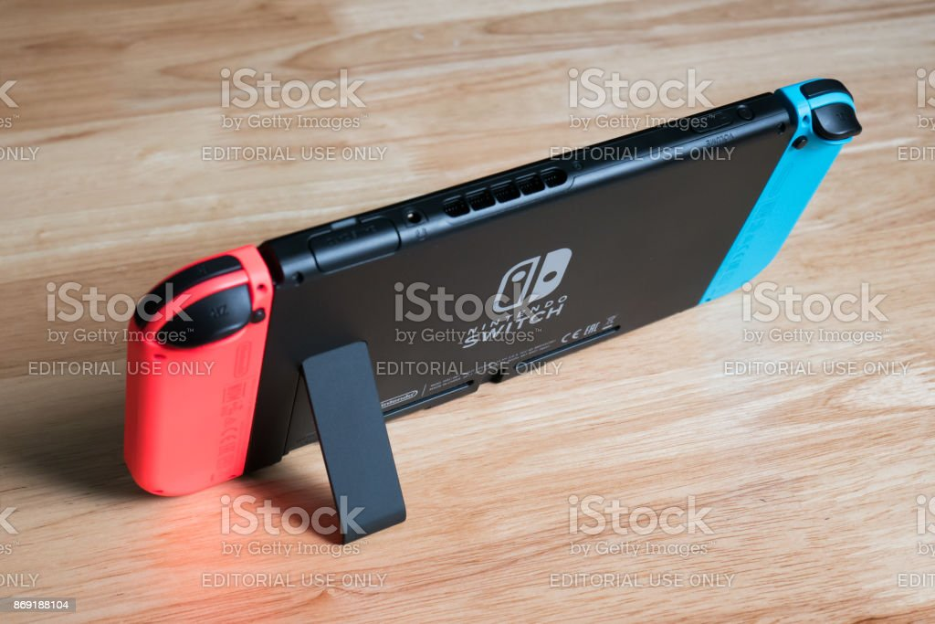 Nintendo Switch stock photo
