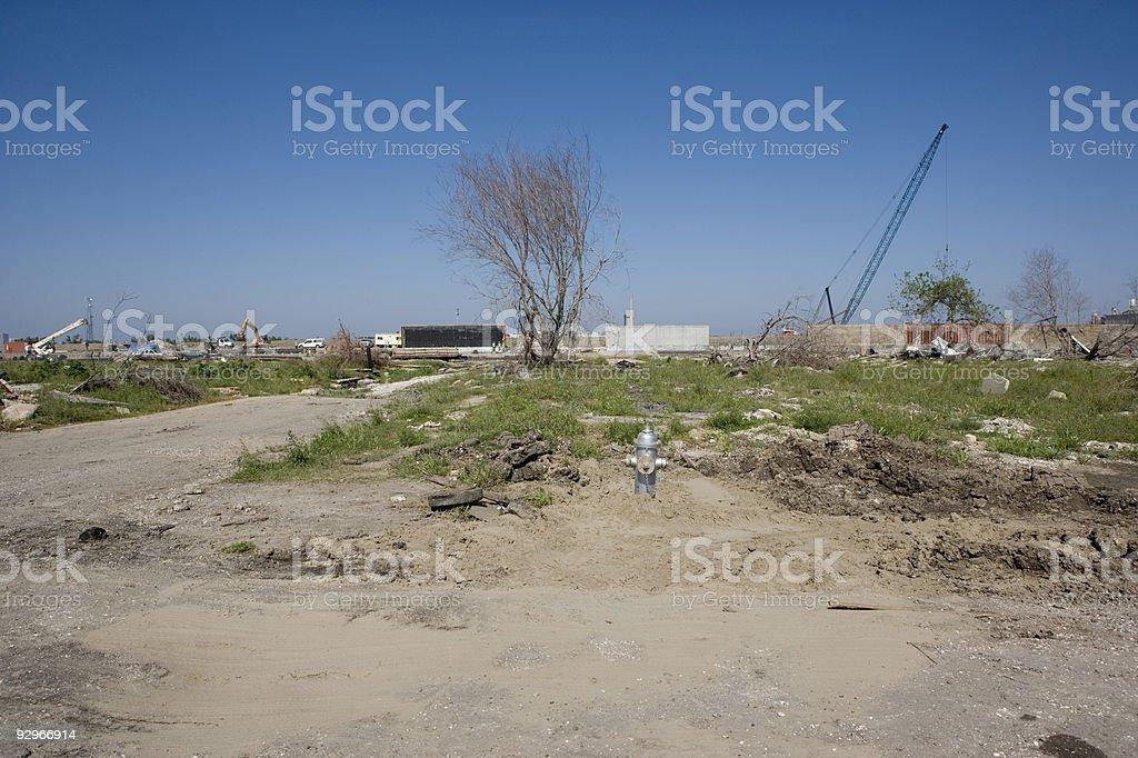 Ninth Ward Home royalty-free stock photo