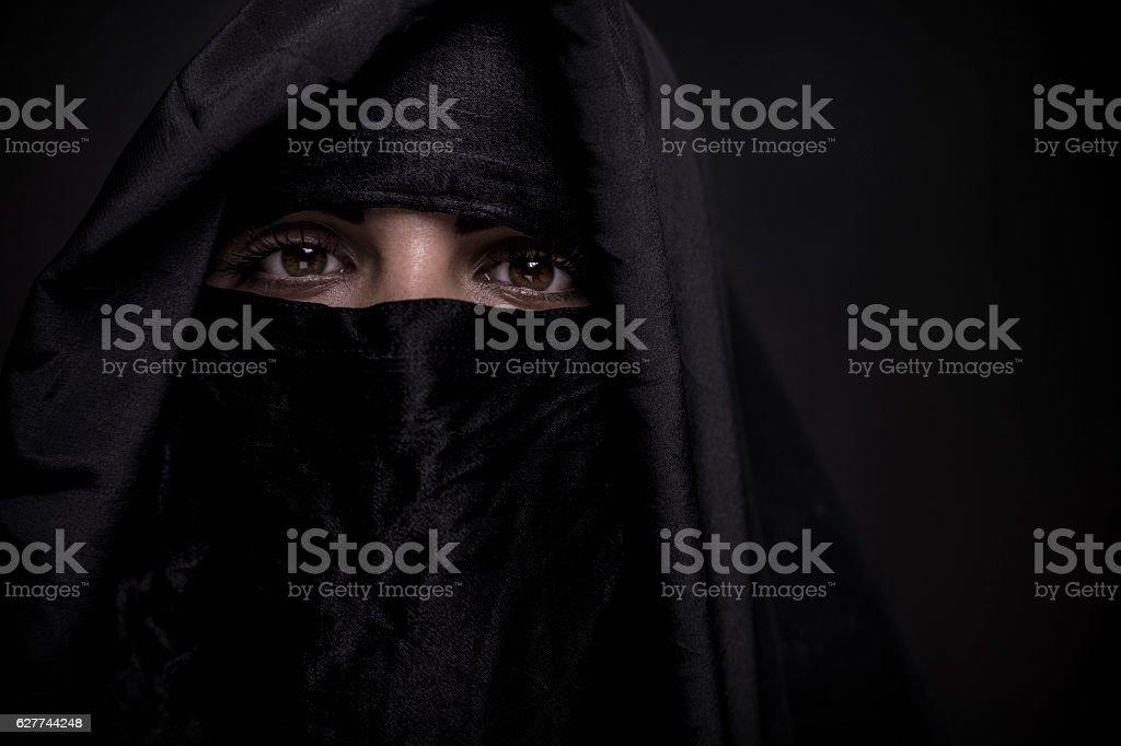 Niqab close up – Foto