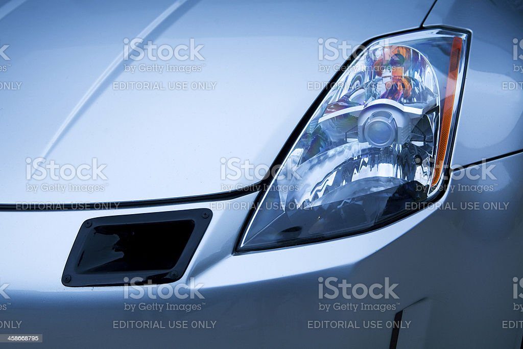 Nissan 350z Headlight Stock Photo Download Image Now Istock