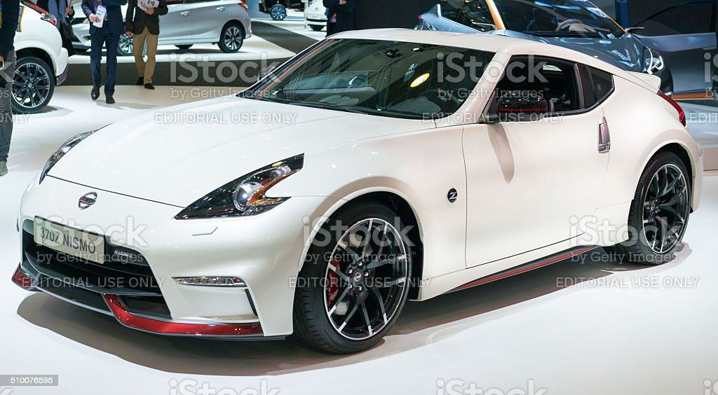 Amazing Nissan 370Z Nismo Royalty Free Stock Photo