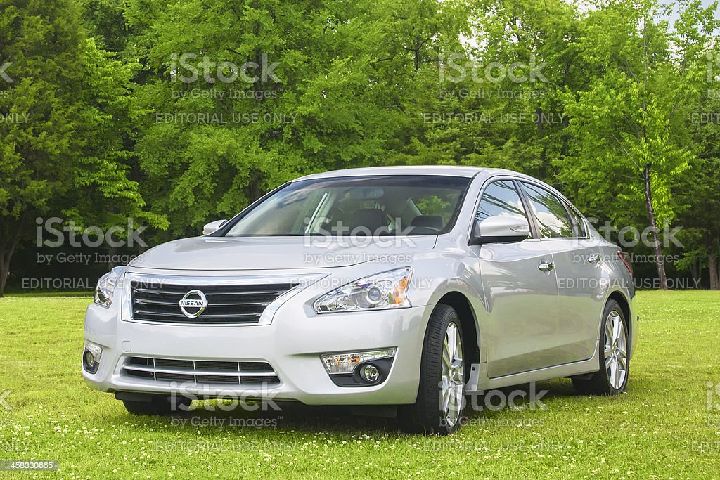 Nissan Altima royalty-free stock photo