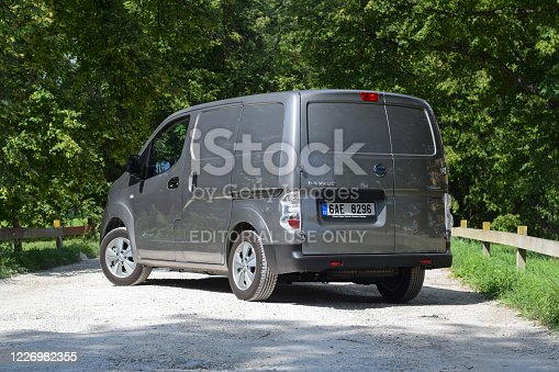 istock Nissan electric delivery van 1226982355
