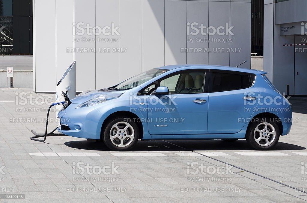 Nissan Leaf stock photo