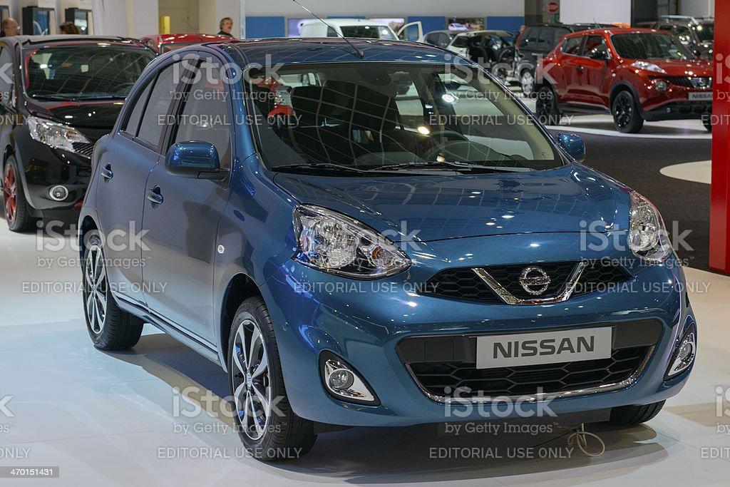 Nissan Micra stock photo