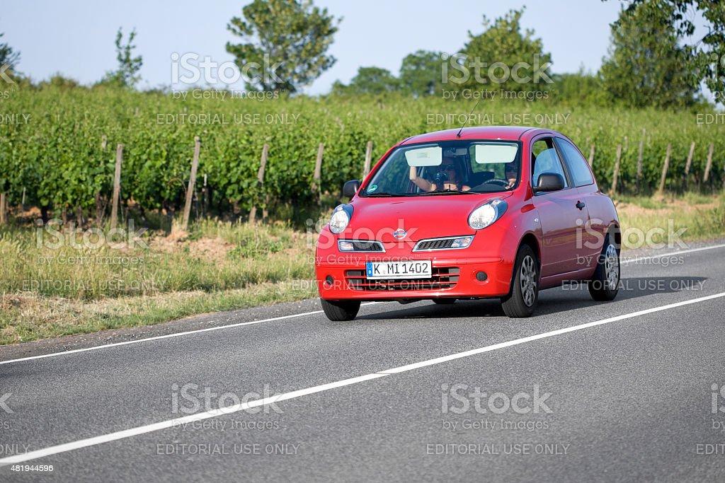 Nissan Micra (K12) stock photo