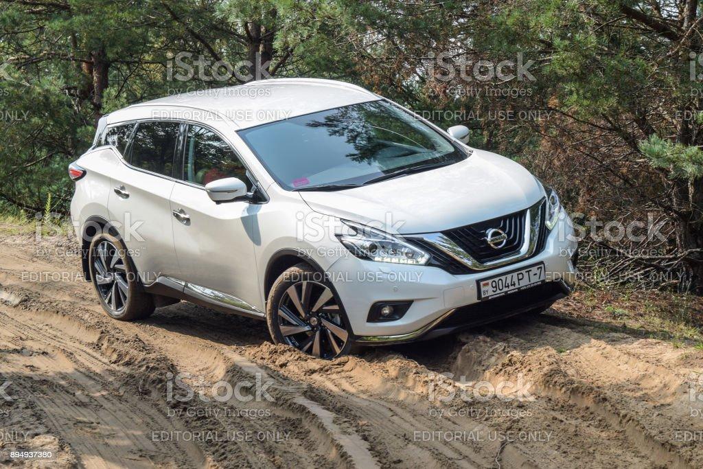 Nissan Murano stock photo