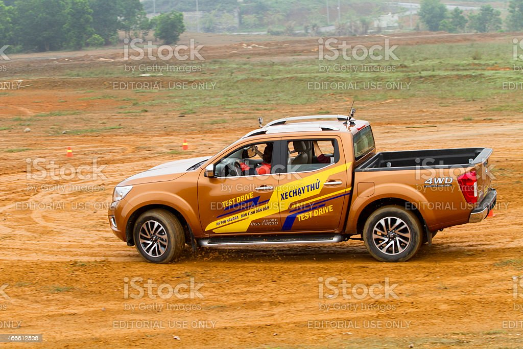 Nissan Navar NP300 car stock photo