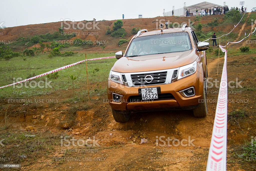 Nissan Navara NP300 2015 car stock photo