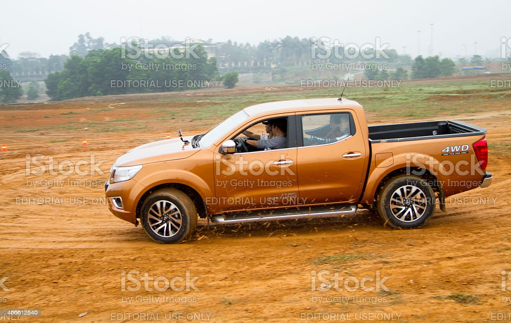 Nissan Navara NP300 car stock photo