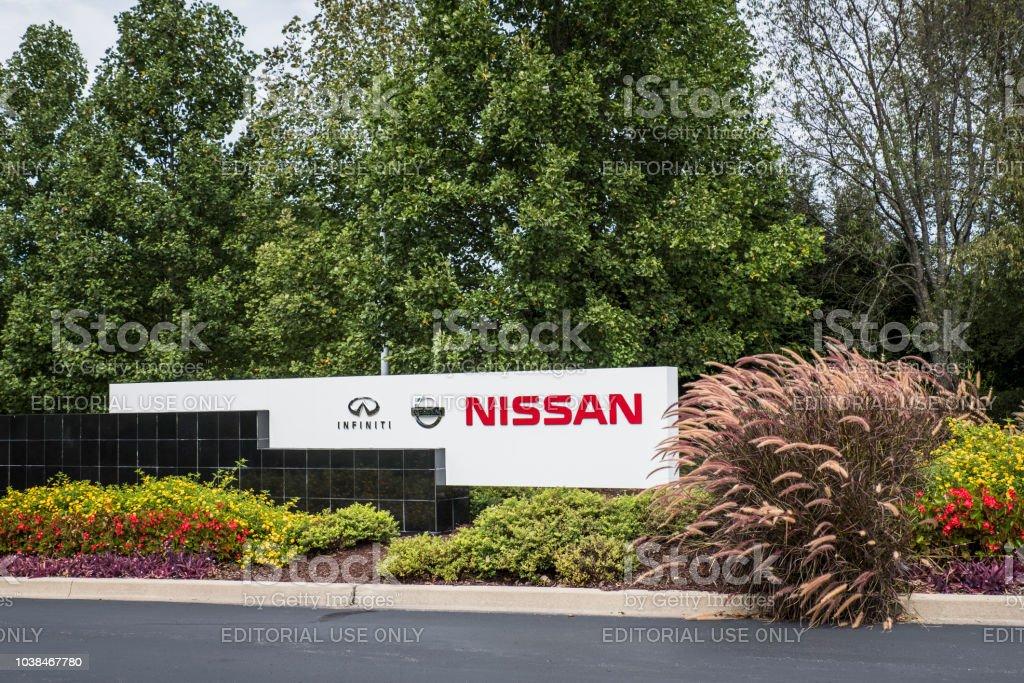 Nissan North America Corporate Headquarters stock photo