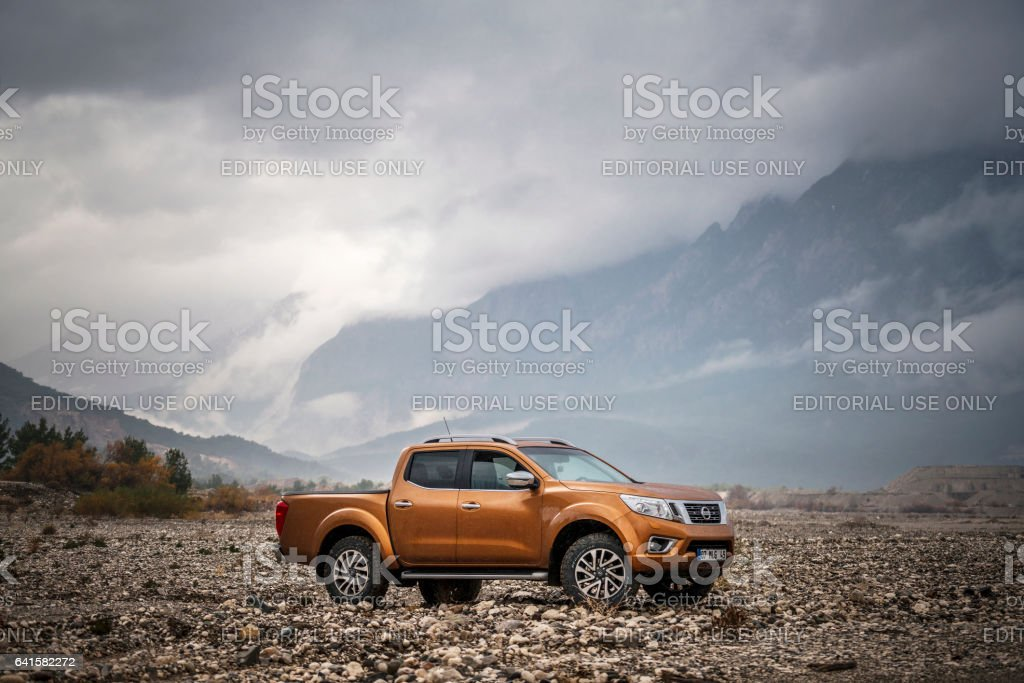 Nissan NP300 Navara stock photo
