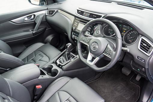Nissan Qashqai 2017 Interieur Stockfoto Und Mehr Bilder Von