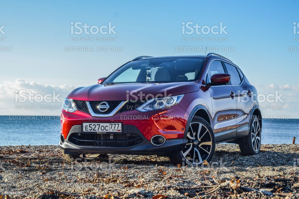Nissan Qashqai stock photo