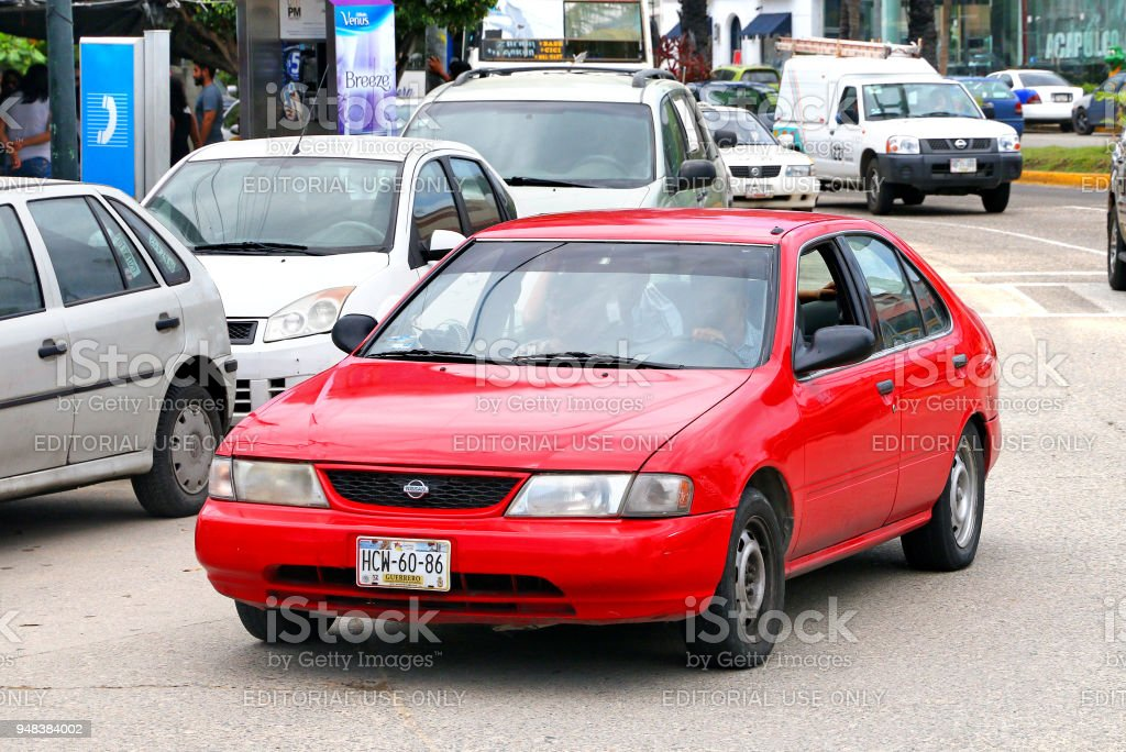 Nissan Sunny stock photo