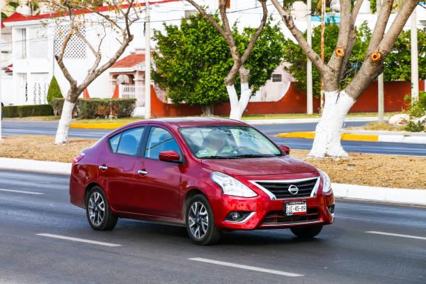 Nissan Versa stock photo