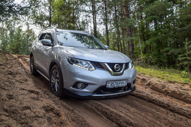 Nissan X-Trail stock photo