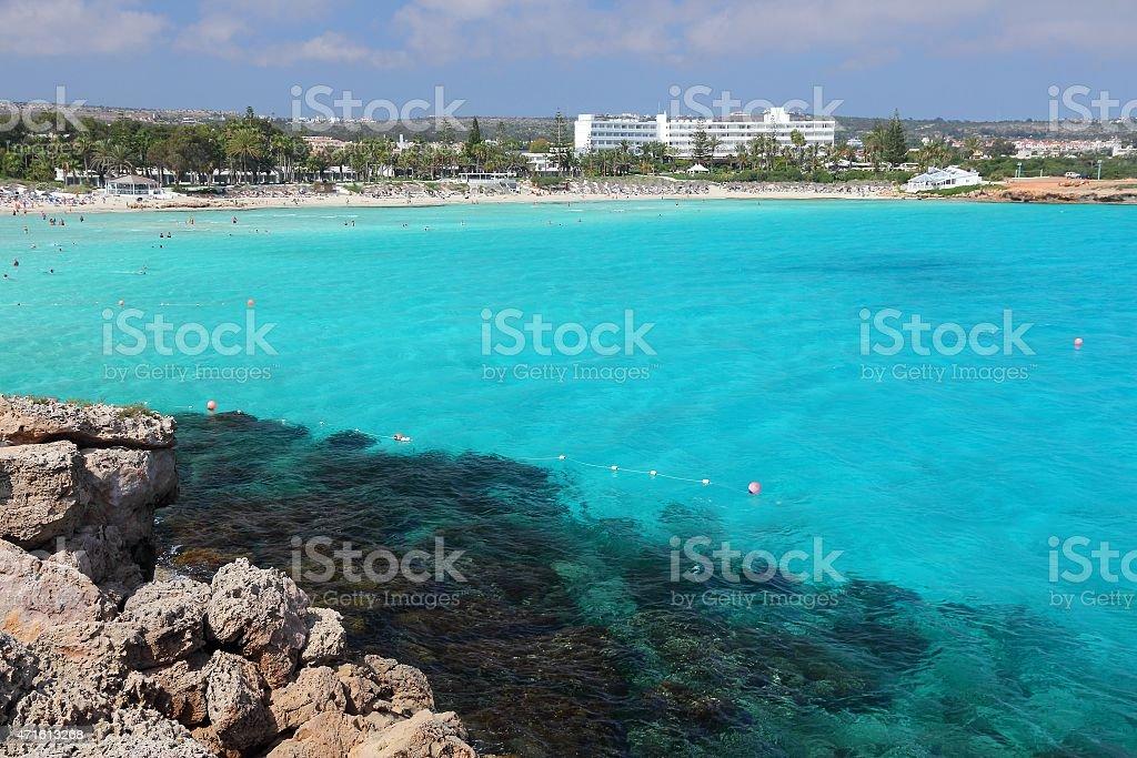 Nissi Beach stock photo