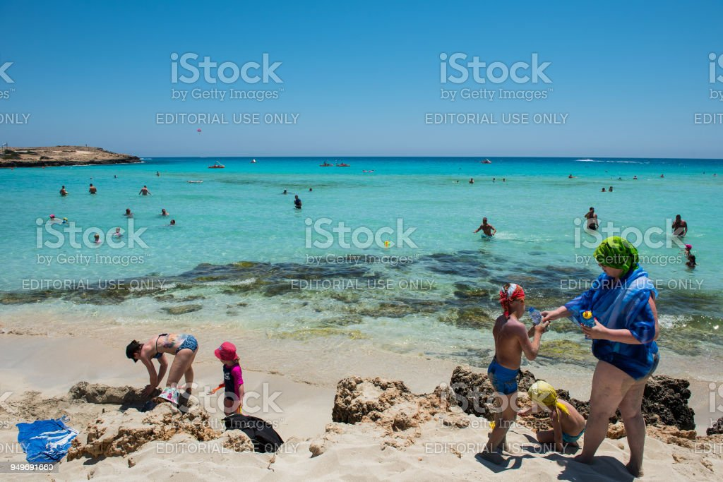 Nissi Beach Resort Weien Sand Und Kristallklarem -9713