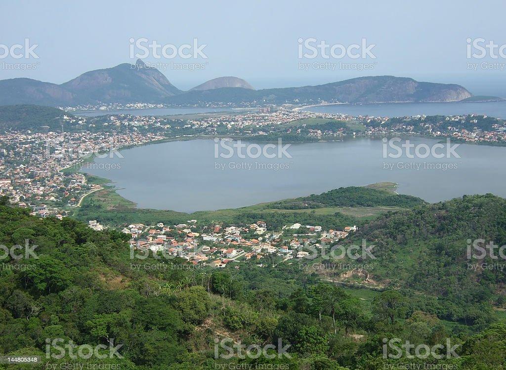 Niteroi city view royalty-free stock photo